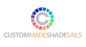 custom made shade sails logo inverted