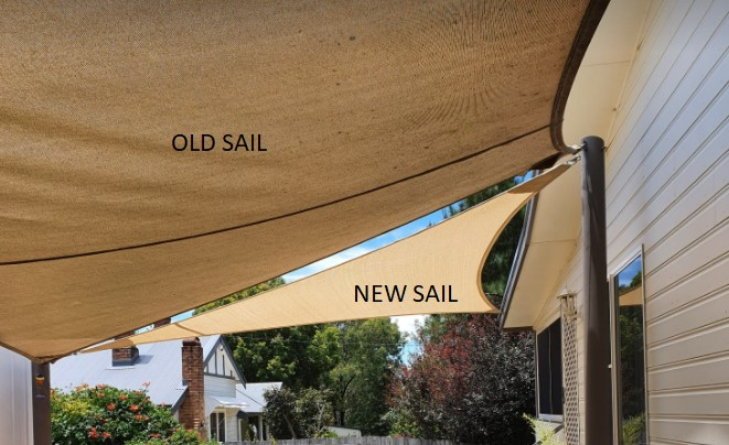 Triangle Sail Old and New